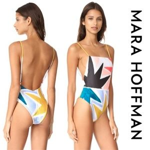 🆕️ Mara Hoffman Superstar Tank swimsuit